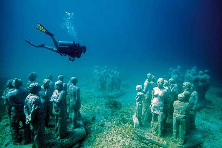Los museos del Caribe Mexicano son espacios de arte impresionantes. Foto: Sitio Web