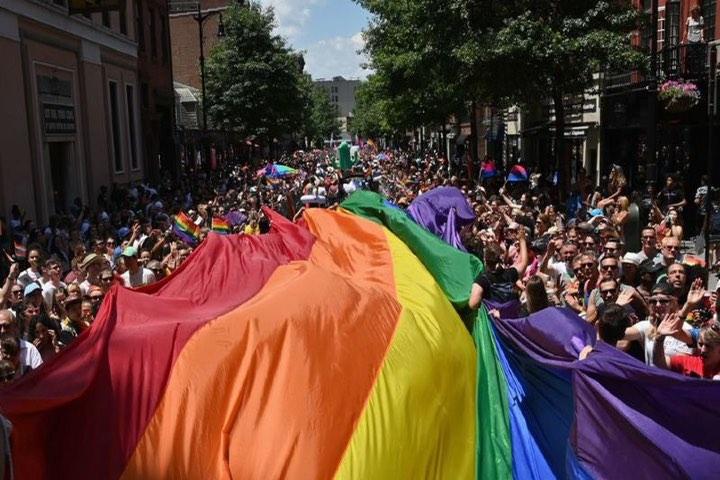 Marcha Gay. Foto: Milenio