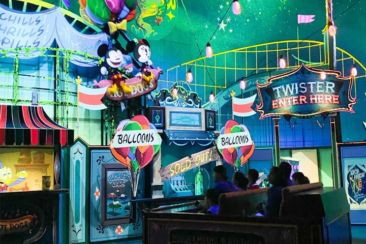 Mickey & Minnie's Runaway Railway. Foto: Disney Trippers