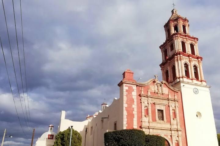 Parroquia de San Sebastían Mártir en Venado - Foto Luis Juárez J