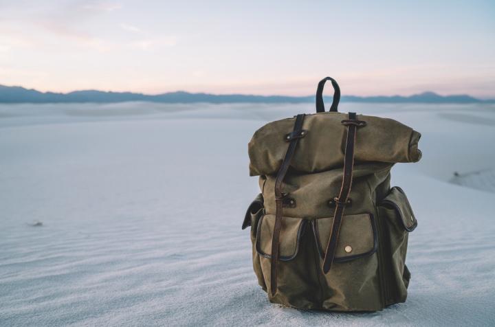Prepara tus maletas y que comience el viaje por las Dunas de Yeso en Coahuila. Foto: AS