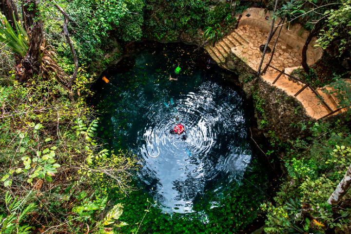 Ruta de los cenotes en Puerto Morelos. Foto: Consejo de Promoción Turística de Quintana Roo