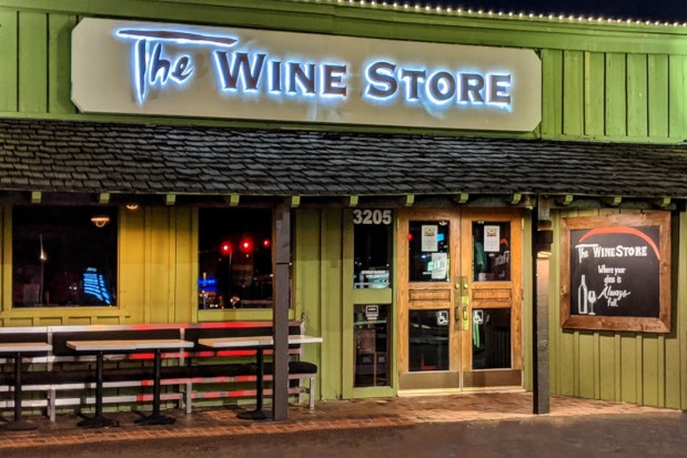 The Wine Store del restaurante Tarbell's. Foto: Az Biltmore