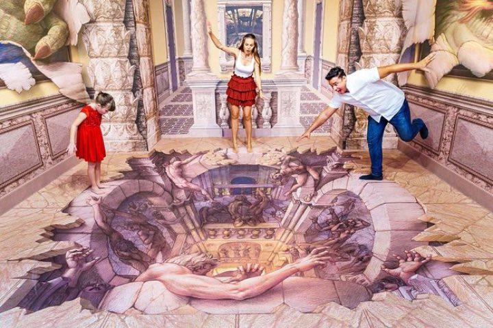 Toma unas fotos impresionantes en el Museo de las Maravillas 3D. Foto: 3D Museum of Wonders