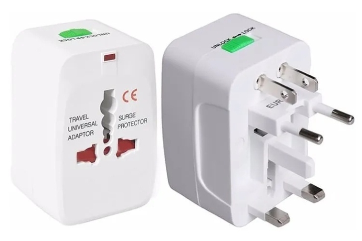 Adaptador universal de corriente. Foto: ZHS Sellers-Mercado Shops