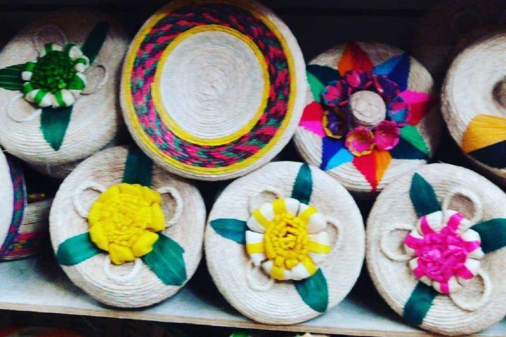 Artesanía Mixteca en el mercado de Oaxaca. Foto Enrike Cifuentes