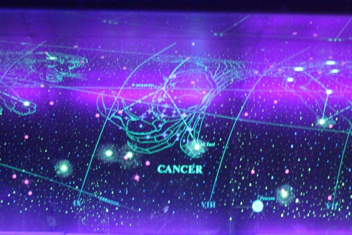 Astronomía en Bóveda Celeste del Metro de CDMX. Foto: Montserrat Castillo