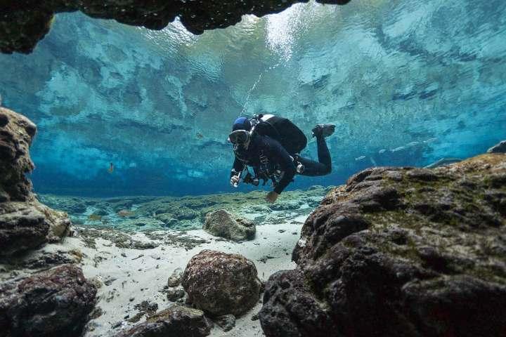 Recuerda realizar el buceo en Islas Galápagos junto a expertos. Foto: Happy Gringo Travel