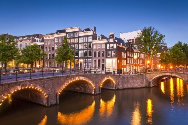 El canal de Ámsterdam es uno de los lugares que quiero visitar en mis vacaciones aquí. Foto: Sitio Web