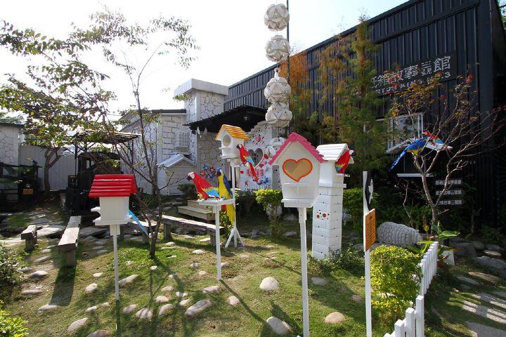 Lo que encontrarás aquí es arte con materiales reciclados. Foto: Miss Tam Chiak