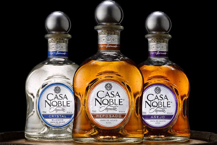 Tequilas de Casa Noble. Foto: LUSTER Magazine