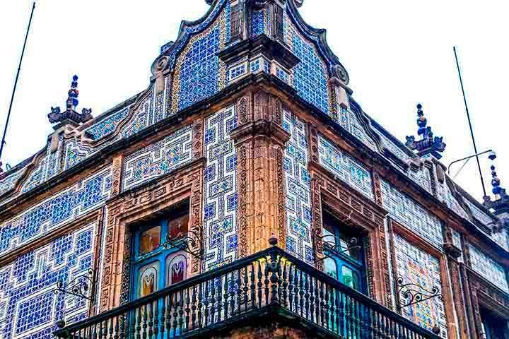 Casa de los Azulejos. Foto: SUE BURGE