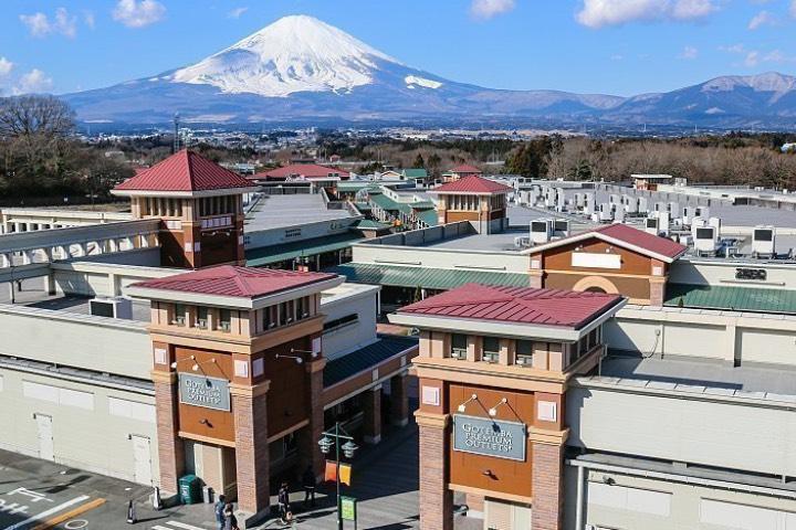 Centro comercial Gotemba Premium Outlets, uno de los atractivos turísticos de Tokio. Foto: Japón Guide