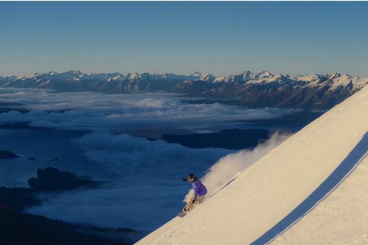 Cerro Bayo es uno de los lugares para practicar deportes de invierno en Argentina ¡Espectacular! Foto: INPROTUR