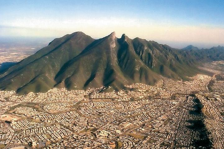 Cerro de la Silla, Monterrey. Foto: Bayonetta Mx
