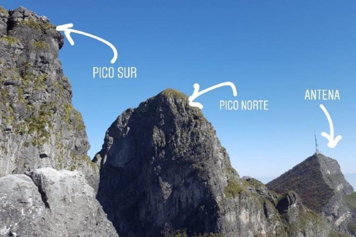 Picos del Cerro de la Silla. Foto: Marcela González