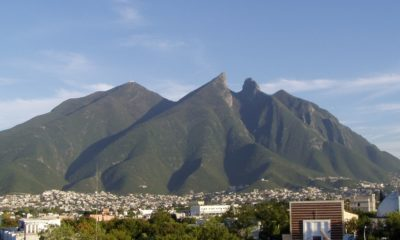 Cerro de la Silla, Monterrey. Foto: Nathaniel C. Sheetz