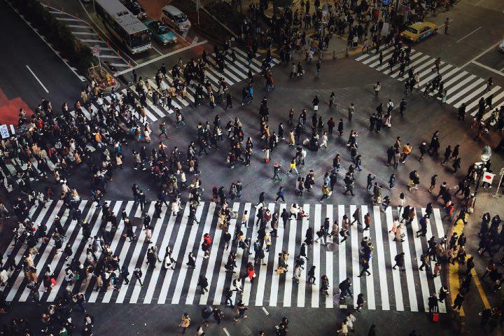 Cruce de Shibuya. Foto: Takanabu Ikeno | Flickr