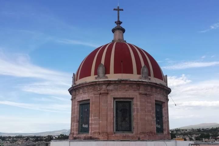 Cúpula de Salvatierra - Foto Luis Juárez J.