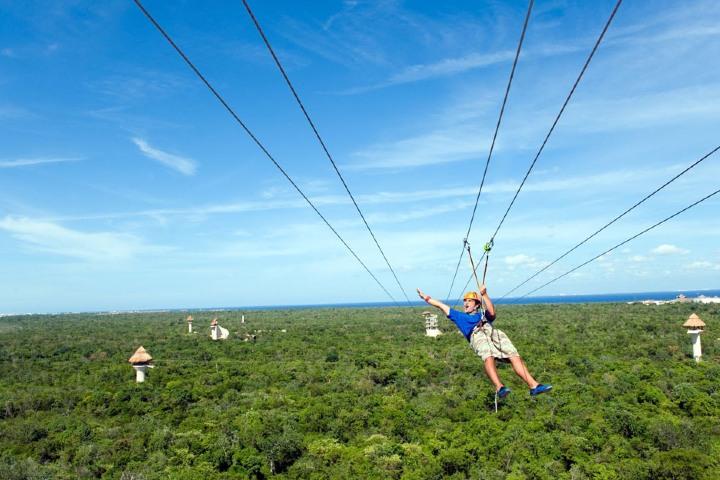 Este parque se enfoca en la realización del ecoturismo. Foto: Playas de México
