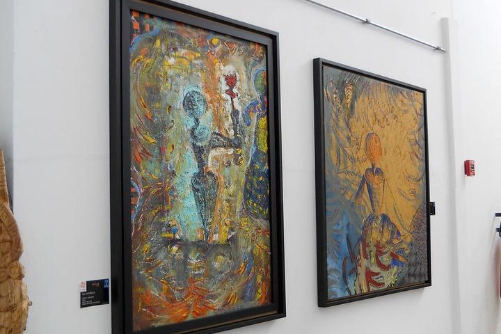 Galería de exposición de arte contemporáneo. Foto: Iñaki Basauri Alvarado