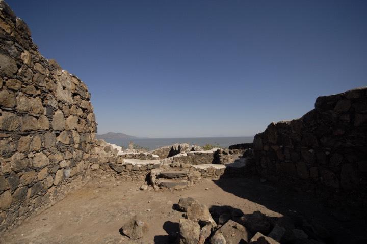 El Fuerte en la Isla de Mezcala, Jalisco. Foto: Turismo Jalisco