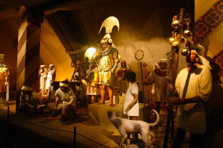 El Museo Tumbas Reales de Sipán es uno de los museos más visitados de Latinoamérica. Foto: Erasmus