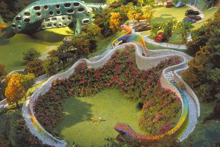 El Parque Quetzalcóatl es una belleza. Foto: Sitio Web