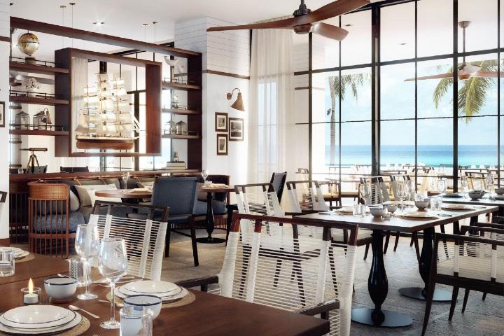 El restaurante Lina deleitará el paladar de sus comensales. Foto: The St. Regis Bermuda Resort | Facebook