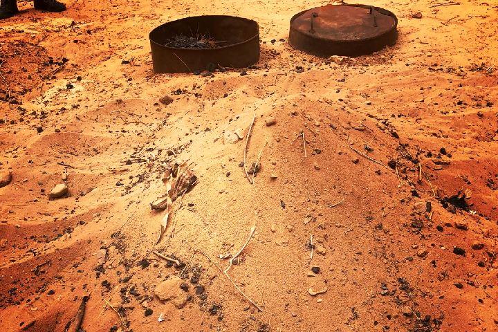 El camello relleno se cocina como la barbacoa. Foto: Lugares coquetos