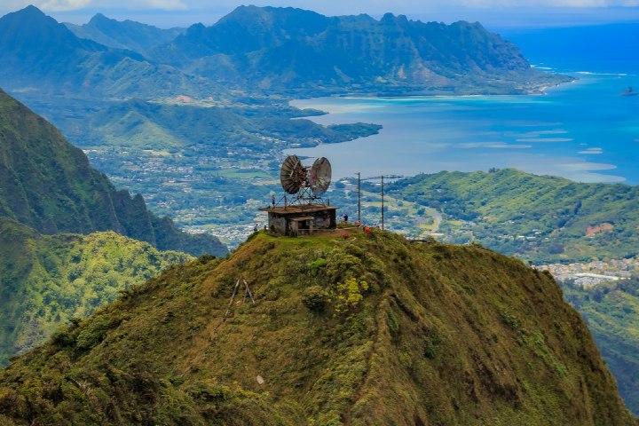 Anteriormente había una estación de radio en la cima. Foto: Awesome Places To Visit SvetlanaSF
