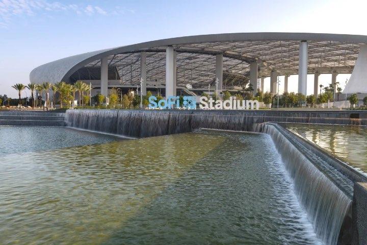 Estadio SoFi de Los Ángeles. Foto: Discoverer Los Ángeles