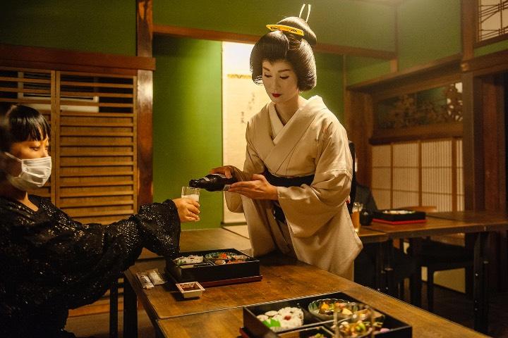 Experiencia en Zashiki, uno de los atractivos turísticos de Tokio. Foto: Turismo de Japón