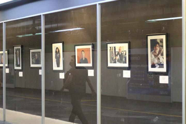 """Exposición """"Para muestra basta un click"""". Foto: Montserrat Castillo"""