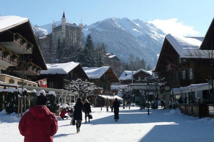 Gstaad, Suiza. Foto: Gabinete de Protocolo