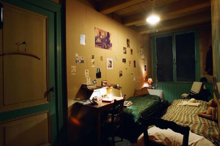 Habitación de la Casa de Ana Frank. Foto: VIVI Ámsterdam