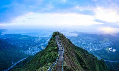 Haiku Stairs, Hawái. Foto: Claudio Miranda Diaz | Flickr