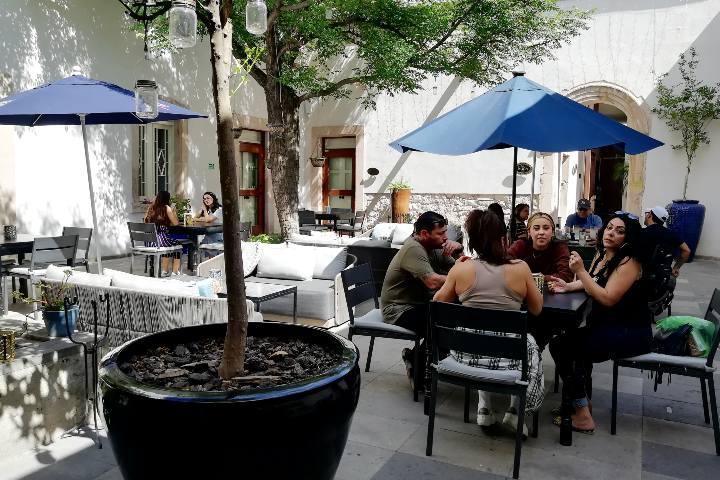 Restaurante Hotel Central B. CUU. Foto: El Souvenir