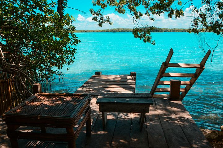 Imagina despertar para recostarte bajo el bello sol de la Laguna Milagros en Huay Pix. Foto: Karen Marin Poot
