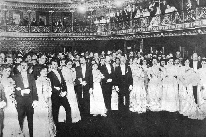 Porfirio Díaz estuvo en la inauguración del Teatro Juárez. Foto: Espacio Arquitectónico en México