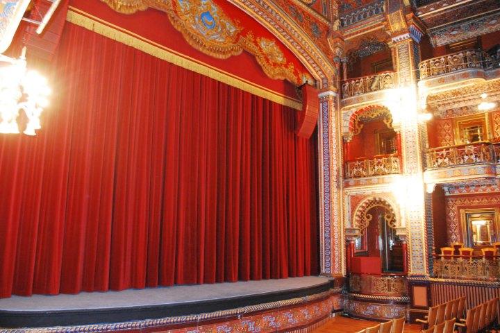 Interior del Teatro Juárez. Foto: Sitio Web