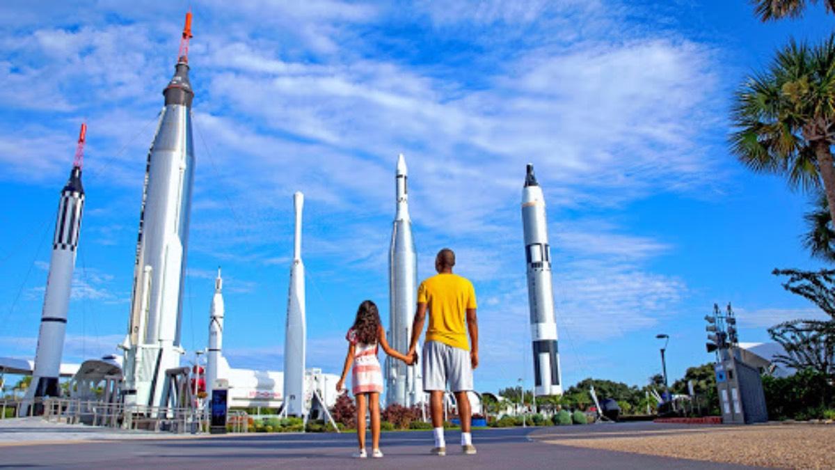Kennedy Space Center de Orlando. Foto: Planeta en Línea