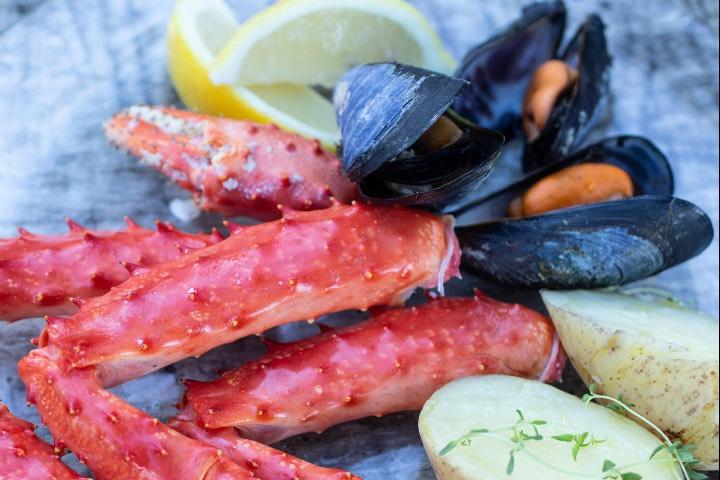 La comida de mar la puedes disfrutar en Ushuaia, Tierra del Fuego. Foto: INPROTUR