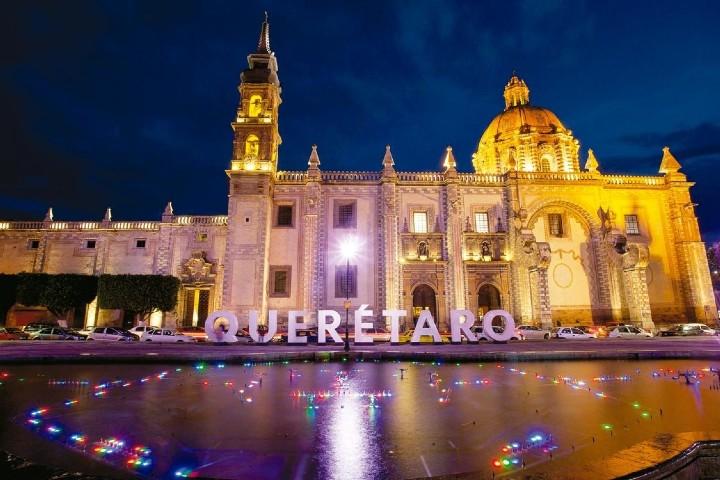 Letras monumentales Querétaro. Foto: Unnimedios