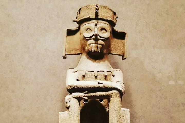 Figura de sacerdote mixteco. Foto: Arqueología Viva de Mexico