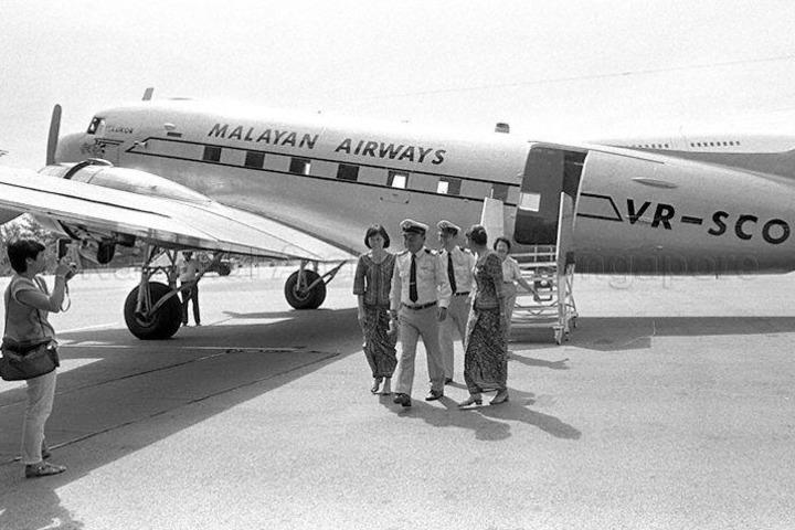 Malayan Airways. Foto: Archives Online