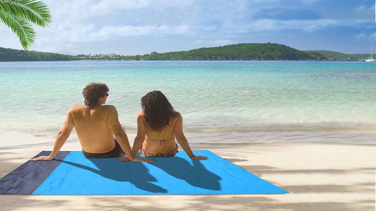 Manta de playa Turebest. Foto: Amazon