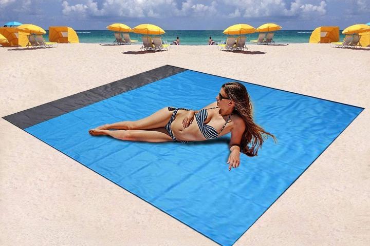 Manta de playa Turebest. Foto: Accesorios de playa