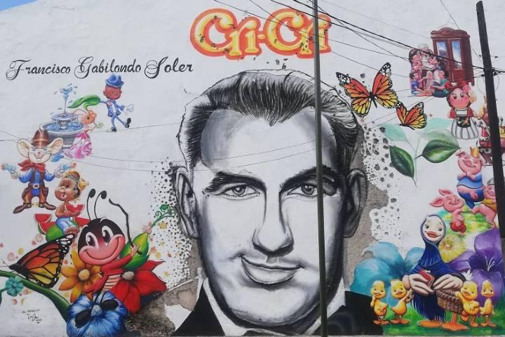 Mural de Cri Cri en Orizaba - Foto Luis Juárez J.