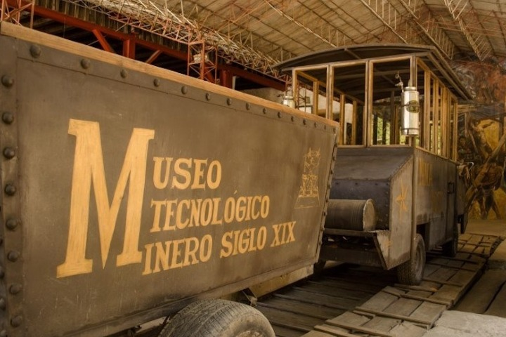 Visita el Museo Tecnológico Minero del Siglo XIX. Foto: A tiempo Noticias